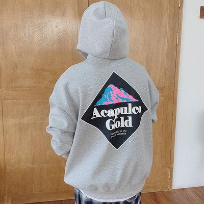 正韓男裝 ACAPULCO GOLD落肩寬鬆連帽衛衣 / 3色 / PMN9252 KOREALINE 搖滾星球