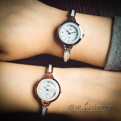 陶瓷女手錬錶時尚簡約小錶盤.