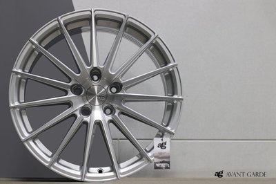 CR輪業 正美國 AG M615 17吋 旋壓輕量化鋁圈 5/100 5/108 5/112 5/114 髮絲銀