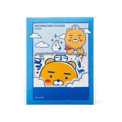 【韓國代購】萊恩海洋防水貼紙 (x)