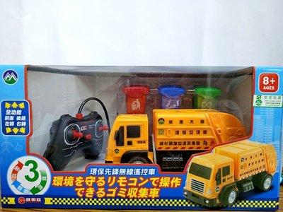 ☆天才老爸☆→遙控回收垃圾車←垃圾車 遙控車 迴力車 安全玩具 玩具車 禮物 批發 男孩