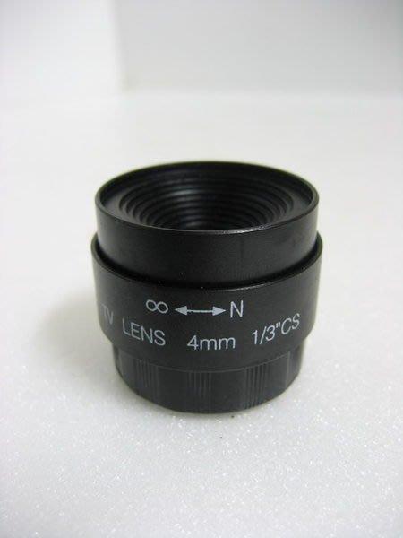 HKL RS系列 監視器 監控 固定鏡頭 焦距 4mm 6mm 8mm 孔徑 F2.0