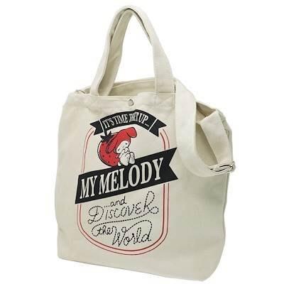 【莓莓小舖】正版 ♥ Sanrio 三麗鷗 Melody 美樂蒂 斜背包 手提包 兩用包