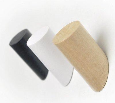 北歐實木掛勾【NF535】三款任選 掛架 掛衣架 木質掛勾 衣帽 無痕 裝飾 壁飾 壁掛 門後掛勾