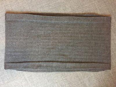Dior Homme灰色織紋圍巾