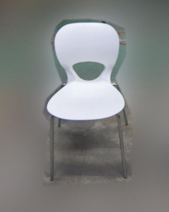 二手家具 台北百豐悅2手買賣推薦-二手白色43公分鐵腳餐椅 吃飯椅等候椅洽談椅會客椅 中和二手傢俱買賣 新店2手家電買賣