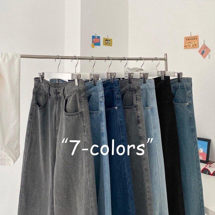 💞【💞HU帥氣潮男爆款💞】☛型男必備 ☚超高CP值韓版休閒寬鬆直筒老爹褲💞