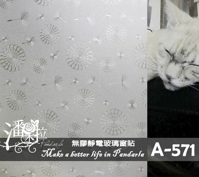 [潘朵拉時尚館]A-571無膠靜電玻璃...