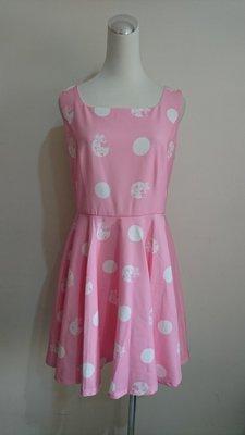 Knightsbridge KB粉色連身裙/洋裝(16)