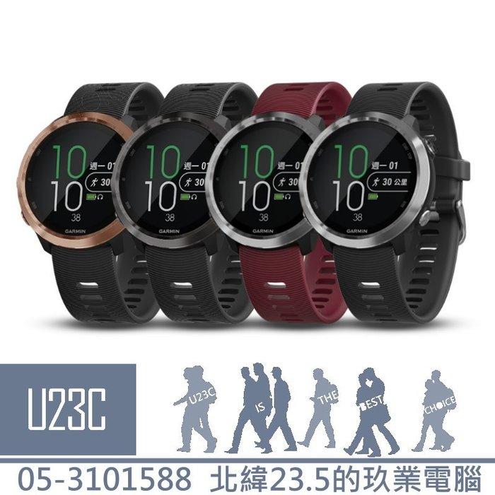 【嘉義U23C 含稅附發票】GARMIN Forerunner 645 Music GPS智慧心率行動支付音樂錶