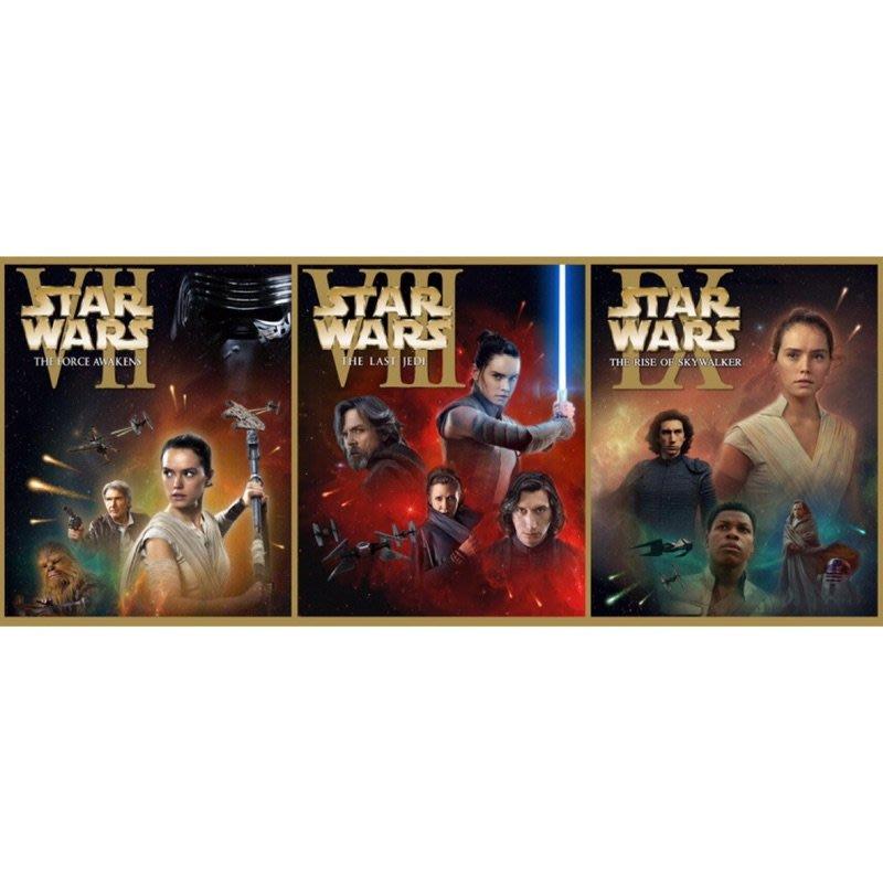 系列藍光/星際大戰後傳三部曲合集 6BD Star Wars Sequel Trilogy 3/30【樂彼家居】JNHDOWIR