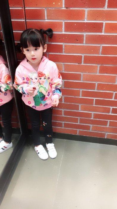 東大門平價鋪  秒殺女童冰雪奇緣童裝,2019春秋新款運動休閒夾克外套,拉鍊開衫外套