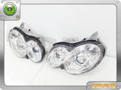 泰山美研社C1984 BENZ 朋馳 W209 C209 CLK 晶鑽 雙魚眼大燈