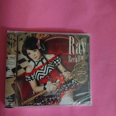 Ray Recall  AMNESIA 日本版CD JPOP S1 GNCA-268