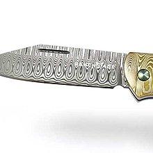 【angel 精品館 】Benchmade 〈Gold Class〉Proper 象牙色G-10 柄無鎖定大馬士革鋼