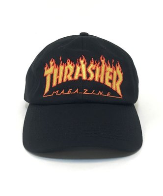 THRASHER FLAME OLD TIMER HAT 144652 老帽 刺繡 火焰