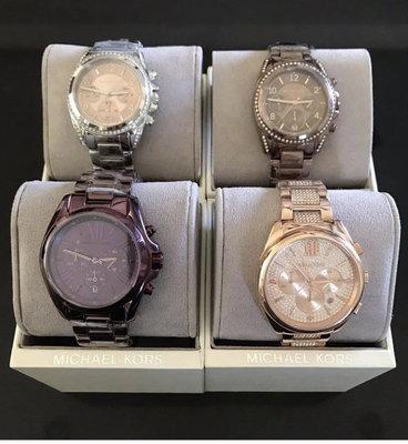 MICHAEL KORS 不銹鋼錶帶 三眼手錶