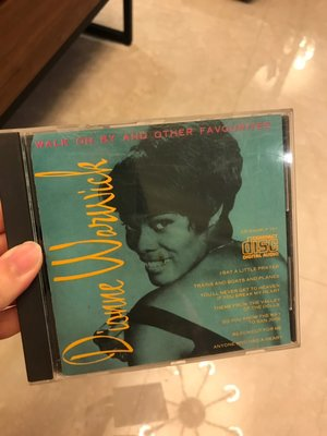 dionne warwick walk on by and other favourites 難找絕版品 CD TR
