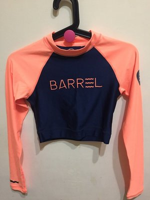 韓國Barrel泳衣泳裝長袖短版 swim suit long sleeve