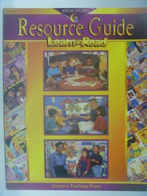 【月界二手書店】Social Studies Resource Guide-Learn to Read〖少年童書〗AJU