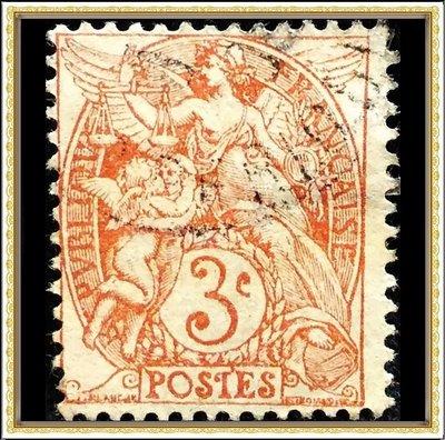 【天天168•特價專案】 【牟根古郵-180410-EURO】1900年代 法國 天使 3c