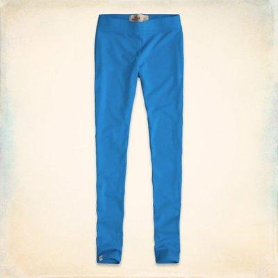 【天普小棧】HOLLISTER HCO High Rise Leggings素色棉質高腰彈性內搭褲 緊身褲 S號