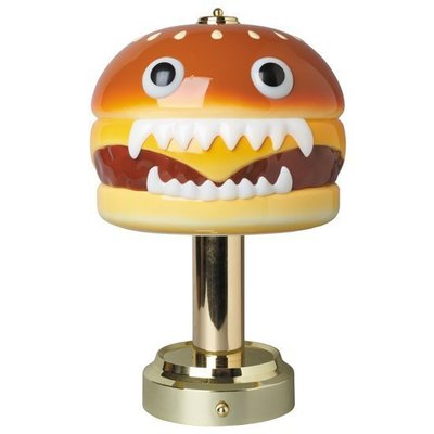 現貨 可自取 UNDERCOVER HAMBURGER LAMP MEDICOM TOY 漢堡燈 檯燈 夜燈