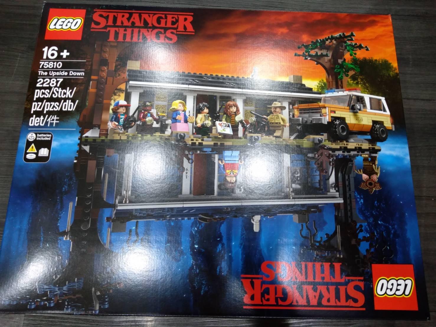 [現貨 公司貨] 75810 LEGO Netflix 怪奇物語-顛倒世界 The Upside Down 樂高