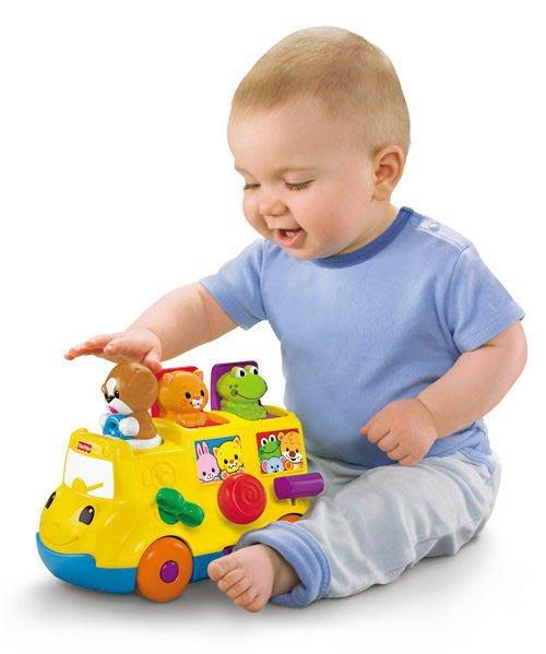 °✿豬腳印玩具出租✿°費雪趣味學習小公車(4)~即可租