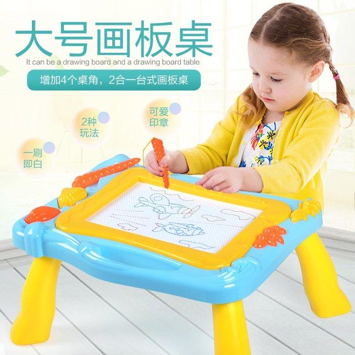 彩色磁性畫板幼兒童磁性寶寶寫字板嬰兒小黑板1-2-3歲涂鴉板玩具