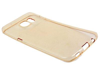 [GIFUTO] Samsung Galaxy S7 Edge TPU磨砂半透明保護套 軟殼 果凍套 – 透金