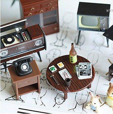 ~╮布咕咕╭~日式和風懷舊昭和時代磁鐵貼微縮迷你場景冰箱貼拍照小道具