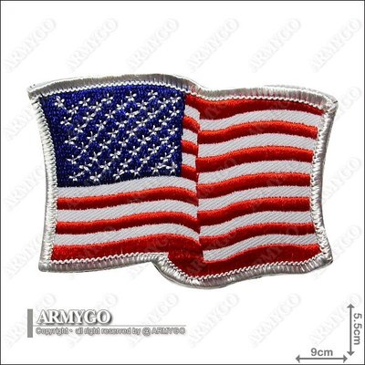 【ARMYGO】美國國旗飄揚版