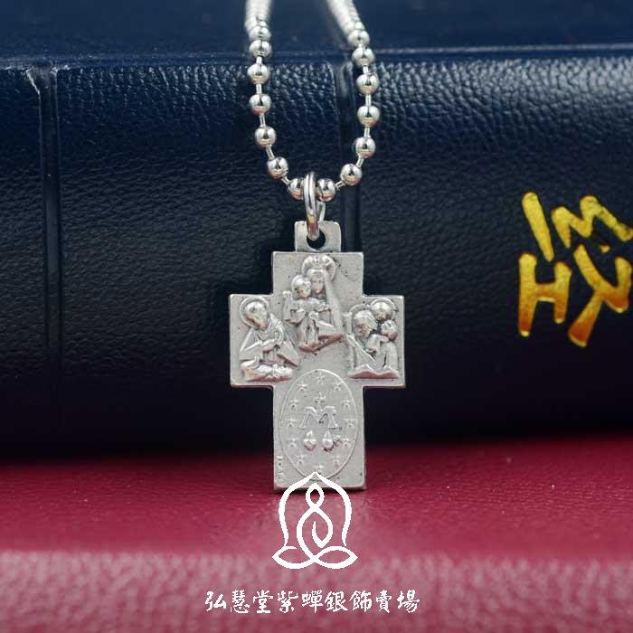 【弘慧堂】意大利進口組合四式十字架2.5cm 天主教聖物 耶穌基督 新款(單個價格)