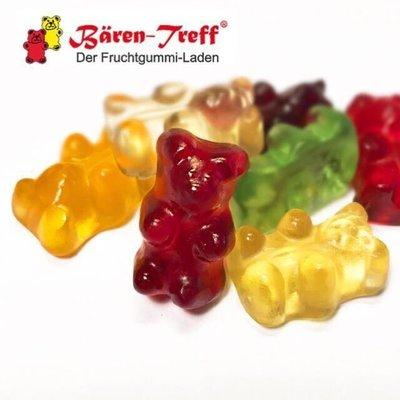 德國baren-treff 天然果汁經典小熊軟糖 1000g果汁含量27%
