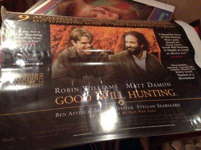 心靈捕手-Good Will Hunting (1997)原版英橫版海報
