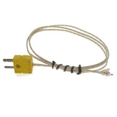 TECPEL 泰菱電子 》熱電偶溫度測線K-TYPE TPK-01H-24 -50℃ ~ 700℃