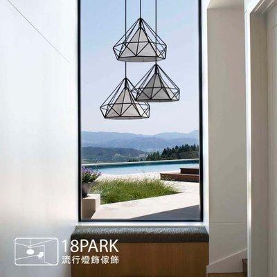 【18Park】光的線條 Brightness Stripe [ 鑽石線吊燈-45cm ]