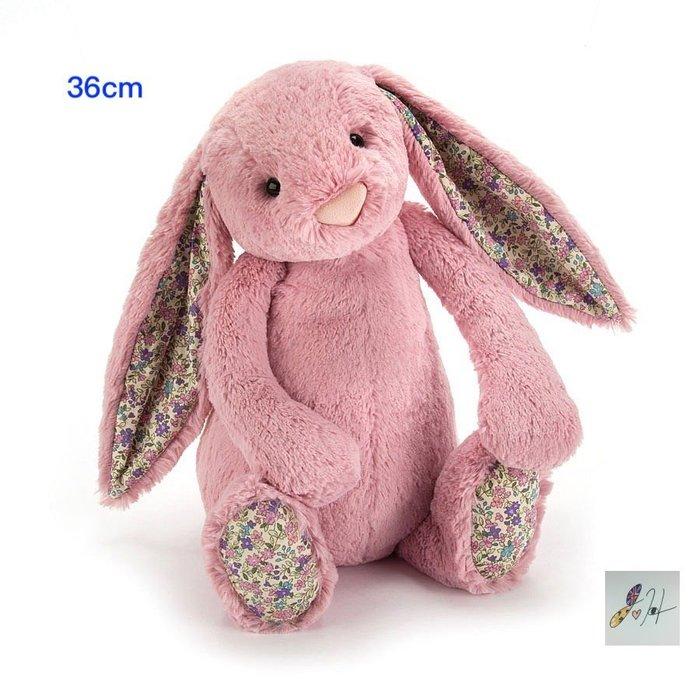 請先詢問[要預購] 英國代購 英國JELLYCAT 粉紅花卉兔子玩偶 36cm