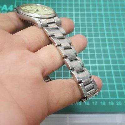 <20mm實心錶帶>蠔式大型 男錶 錶帶長 早期好貨 老錶 最愛 非 港勞 EAT ROLEX SEIKO TELUX ORIENT MK IWC CK B02