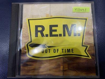 *還有唱片行*REM / OUT OF TIME 二手 Y11071 (無IFPI.缺封底)