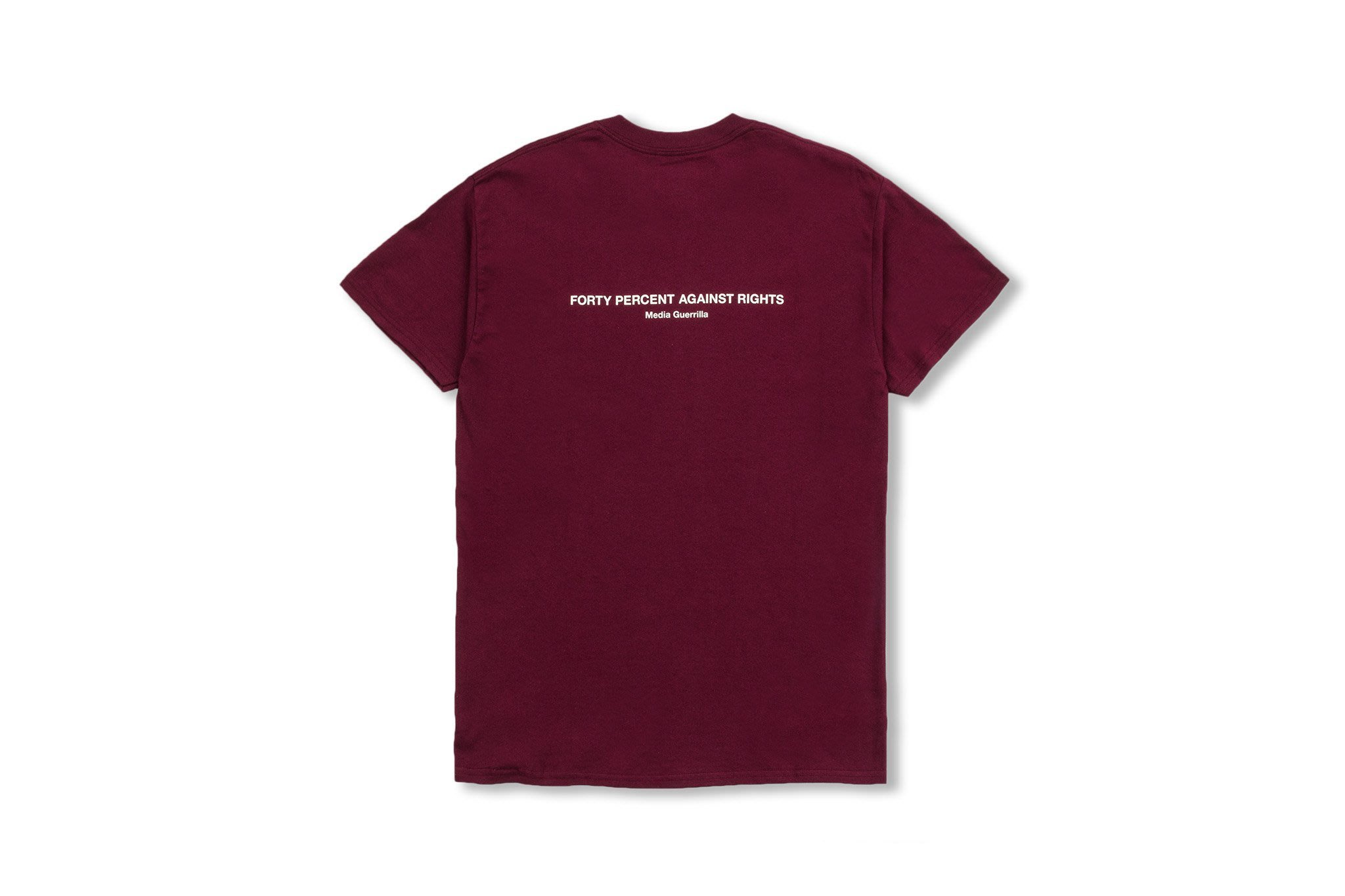 (A.B.E)FORTY PERCENT AGAINST RIGHTS AW19 BANNER SS TEE 10 兩色