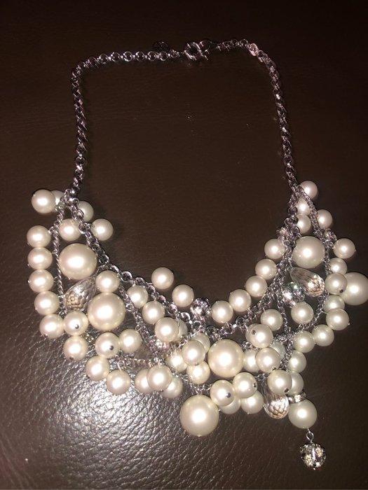國外大牌水晶珍珠項鍊