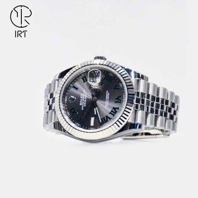 【IRT - 只賣膜】勞力士 腕錶專用型防護膜  EX級極致防護 手錶全機包膜 126334  深灰色 五版