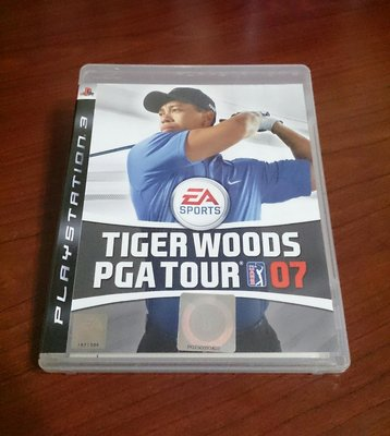 2件免運 PS3 老虎伍茲 英文版 TIGER WOODS PGATOUR 07