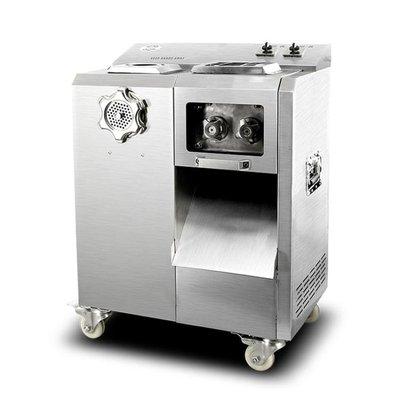 電動切肉機 多功能不銹鋼商用電新動絞肉切肉切片切絲碎肉灌腸機新可拆卸攪肉機 MKS