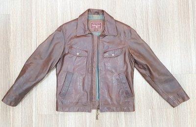 marlboro Classics 經典棕色牛皮皮衣,羅馬尼亞製,二手逸品,敬請把握
