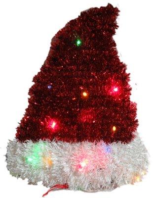 【洋洋小品】【LED聖誕裝飾造型燈-帽子】電池燈桃園平鎮中壢聖誕節大型場地佈置聖誕禮物.聖誕燈.聖誕花圈社區公司機關