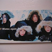 GLAY - Winter,again/Young oh! oh!/HELLO MY LIFE 3吋 CD Single (日本版) (附側紙)