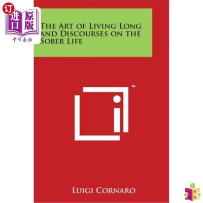 [文閲原版]The Art of Living Long and Discourses on the Sob...